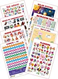 #6: Kid's 1st Learning Charts [S] : Set 25 (Hindi Varnamala, Solar System, Multiplication Tables, Human Anatomy, Map of India, Numbers 1-100, Flowers & Means of Communications)