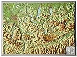 Reliefkarte Salzkammergut (1:300.000)