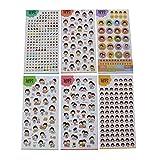 DIY Handbook Stickers Nette Aufkleber Aufkleber-Set von 6 / Kindheit