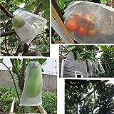 UniEco Schädlingsschutz-Netz Insektennetz für Obst 30x20cm 10pcs