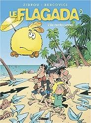 Le Flagada, Tome 2 : L'île recto-verso