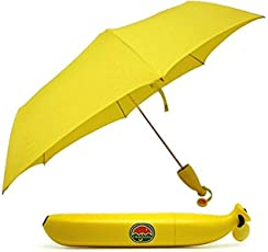 J N Retails Yellow Folding Umbrella