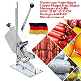 Wurstklipper Wurstclipper manueller Betrieb Handklipper Clipper Klipper Business Clip