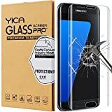 Samsung Galaxy S7 Edge Panzerglas Glasfolie Schutzfolie ,Yica [Anti-Kratzen] Hartglas Display Folie Full Coverage Screen Protector Schutzglas für Samsung Galaxy S7 Edge