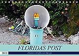 Floridas Post (Tischkalender 2019 DIN A5 quer): Floridas Vielfalt an Briefkästen (Monatskalender, 14 Seiten ) (CALVENDO Orte)