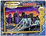 Ravensburger 28897 - Brooklyn Bridge - Malen nach Zahlen Trend, 40 x 30 cm
