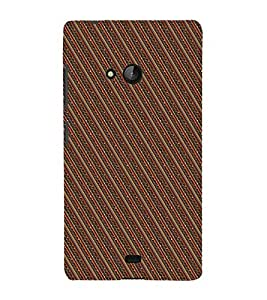 Fuson Designer Back Case Cover for Microsoft Lumia 540 Dual SIM ( Ethnic Pattern Patterns Floral Decorative Abstact Love Lovely Beauty )