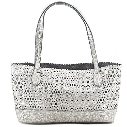 buco-small-dot-tote-femmes-argente-sac-shopping