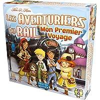 Asmodee Jeux de plateau - Aventuriers du Rail