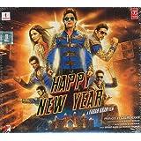 HAPPY NEW YEAR (Bollywood Soundtrack CD) 2014 - Shah Rukh Khan, Deepika Padukone, Abhishek Bachchan
