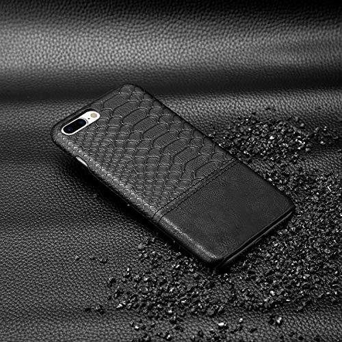 Joseph Cases Schutzhülle für iPhone 7/8 Plus 5,5 Zoll (14 cm), modernes Design, stoßfest, schlankes Design, Schwarz Joseph Design