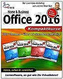 Office 2016 Home Business - Video Training - 4 Praxiskurse auf DVD [Interactive DVD]