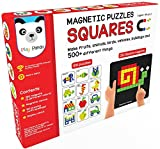 Best Creativity for Kids Board Game For Kids - Play Panda Magnetic Puzzles Squares With 250 Magnets Review