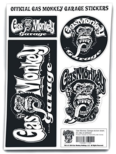 Preisvergleich Produktbild Gas Monkey Garage Sticker Sticker Standard