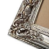 Bilderrahmen im Barockstil Silber 60×70/ 40×50 cm (Antik) Im Retro-Vintage look. In Handarbeit hergestellt für Künstler, Maler. Idealer Gemälde-Rahmen für Ausstellungen STAR-LINE® - 3