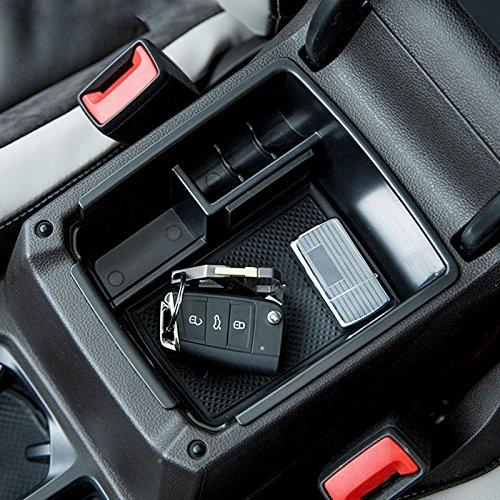 Aufbewahrungsbox Organizer Halter Mittelkonsole Armlehne Handschuhfach Für Tiguan L/Mk2 2016-2018 Automatik