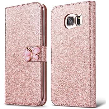 samsung s7 glitter flip case