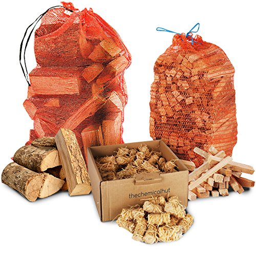 firewood-pack-15kg-kiln-dried-hardwood-ash-logs-3kg-kindling-100x-natural-firelighters-comes-with-th