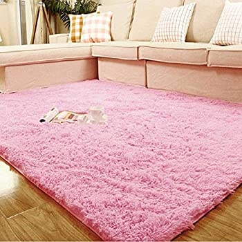 Weimanshop Soft Anti-skid Carpet Floor Mat Shaggy Rug Living Room ...
