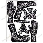 Adh�sif mod�le tatouages henn� - pied...
