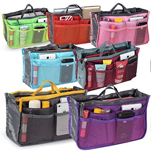GPCT da donna Organizer con 13scomparti borsa arancione