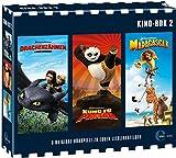 Kino-Box 2 (Drachenzähmen leicht gemacht 1, Kung Fu Panda 1, Madagascar 1)