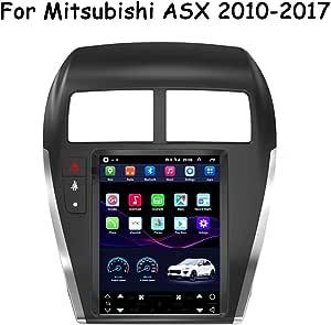 Hp Camp 9 7 Zoll Autoradio Gps Navigation Android 9 0 Kapazitive Bildschirm Autoradio Für Mitsubishi Asx 2010 2017 Unterstützung Bluetooth Lenkradsteuerung Enthalten Kamera Sport Freizeit