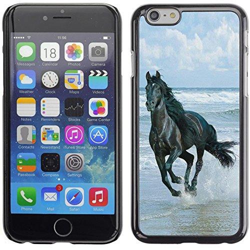Graphic4You Pferd Tier Design Harte Hülle Case Tasche Schutzhülle für Apple iPhone 6 Plus / 6S Plus Design #8