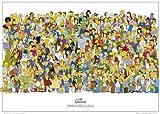 GB eye Ltd FP0954 Maxi-Poster The Simpsons Cast, 61 x 91,5 cm