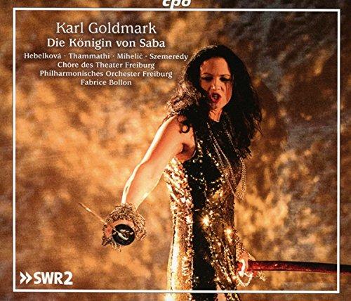 Karl Goldmark : La Reine de Saba, opéra. Hebelkova, Thammathi, Mihelic, Szemeredy, Bollon.