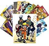 Anime Postkarten Set 24pcs NARUTO Manga Anime CA6052