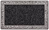 CarFashion PUR|UrbanClean Türmatte TPE-VC 100% nachhaltig Anthrazit Metallic 75 x 45 cm