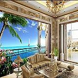 Benutzerdefinierte 3D Fototapeten Fototapeten Meerblick Zimmer Hintergrundbild 3D Tv Hintergrundbild Wandbild Wohnkultur Für Wohnzimmer