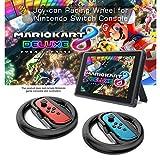 ARCHE Joy-Con Racing Wheel Switch Nintendo, Ensemble de 2 Directeur Joycon Controller pour Mario Kart