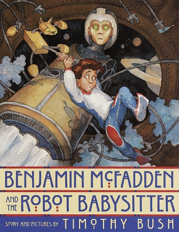 Benjamin McFadden and the robot babysitter.