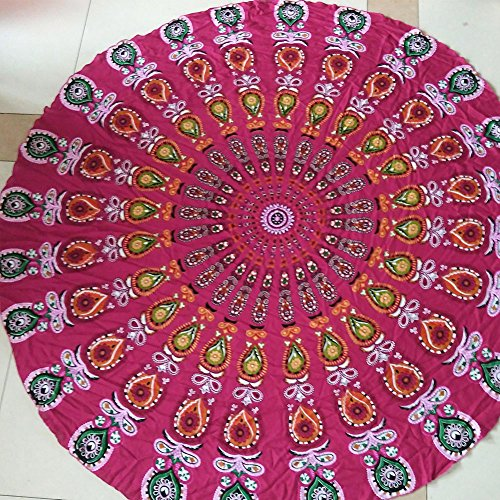 telo-mare-round-yoga-mat-beach-throw-round-table-cover-tapestry-hippy-boho-gypsy-mandala-tovaglia-da