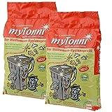 myTonni Bio- und Mülltonnenstreu 10 Liter Beutel im *2er-Sparpack*