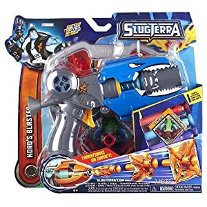 SlugTerra Kords Blaster 7 Pieces by Jakks TOY (English Manual)