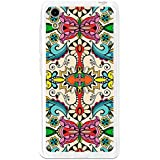 BeCool - Funda Gel Flexible Cubot X9 Colorful Abstract Flowers Carcasa Case Silicona TPU Suave