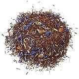 Aromas de Té - Té Rooibos Infusión del Sueño Relajante con Azahar, Valeriana, Espliego, Manzana y Ceral Azul a Granel, 100 gr.