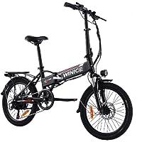 Vivi 20 Zoll Elektrofahrrad E-Bike, Klapprad Elektrisches mit 250W Motor & Abnehmbare 36V 8 Ah Lithiumbatterie,Shimano 7…