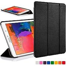 Forefront Cases funda de piel con tapa y función de apagado automático con función de encendido para 25,65 cm Samsung Galaxy Tab Pro - Black_P negro negro Galaxy Tab Pro 8.4