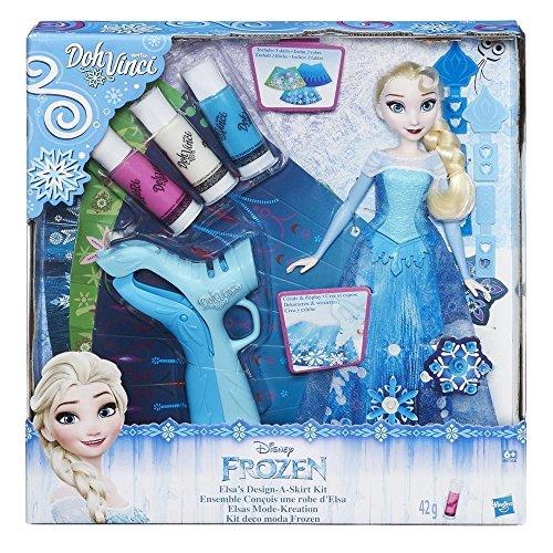 Hasbro - B6168 - DohVinci - Disney: Die Eiskönigin - Elsa's Mode-Kreation