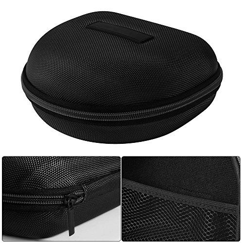 XCSOURCE® Hard Eva Kopfhörer Tasche Beutel Reisetasche (Schwarz) für Marshall Major I/Major II Bluetooth On-Ear Headset TH716 - 3