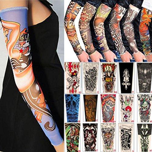 chshe creative 6pcs seamless sunscreen tattoo pattern