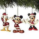 Jim Shore Disney Traditions Mickey Minnie And Donald Christmas Ornaments Set by ENESCO CORPORATION