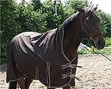 Outdoor Pferdedecke mit Polarfleece -Half Neck - Regendecke Turnout Weidedecke