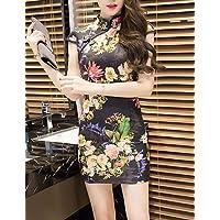c95fd2ab9d14 PU PU Fodero Vestito da Donna-per Uscire Moda Città con Stampe Colletto  alla Coreana sopra