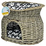 Me & My Pets Two Tier Woven Pet Bed Basket