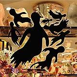 EgBert Kst-23 Halloween PVC Goblin Gruppo Muro Adesivi Finestra Decorazione Festival Muro Decalcomanie Poster